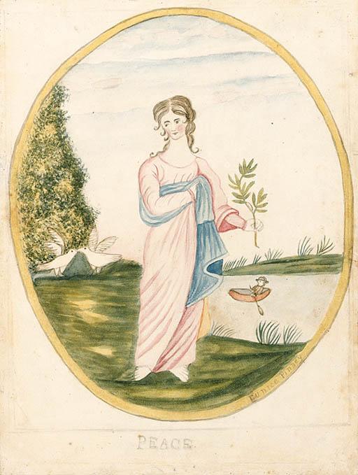 EUNICE PINNEY (1770-1849)* Pea