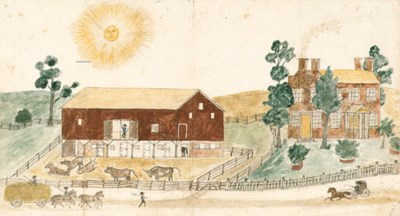 AMERICAN SCHOOL, possibly late