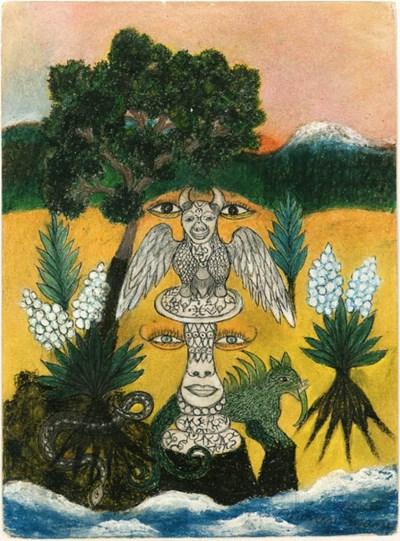 MINNIE EVANS (1892-1987)
