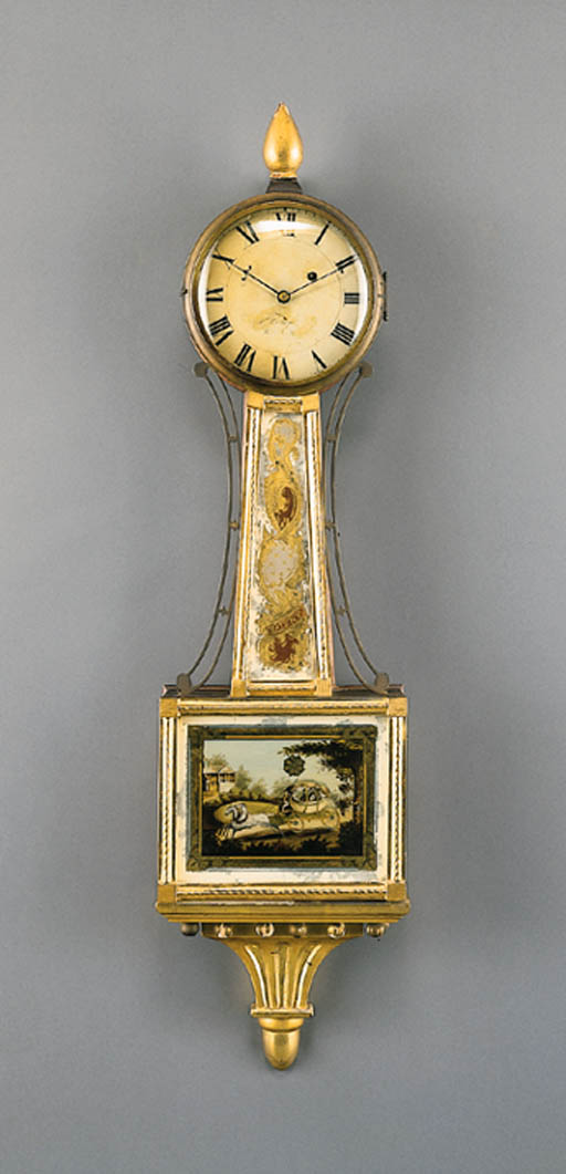 A FEDERAL GILTWOOD AND GLOMIS