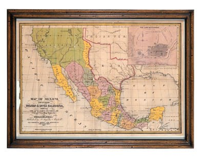 MAP OF MEXICO, INCLUDING YUCAT