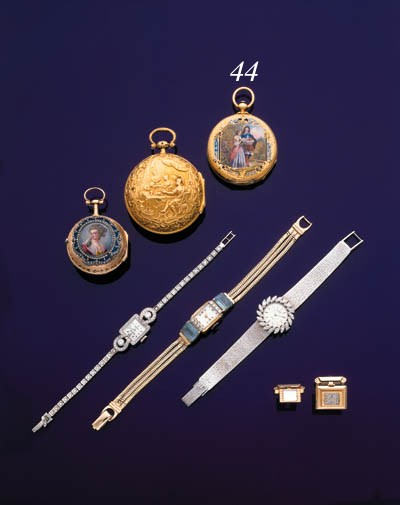 PATEK & CIE.  AN 18K GOLD AND