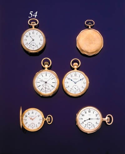 DUNAND. A GOLD FILLED MINUTE R
