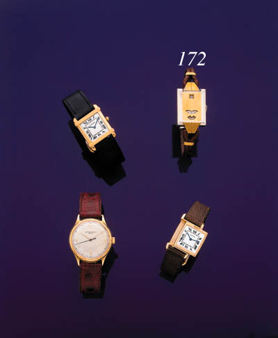 GLYCINE.  AN 18K YELLOW AND WH