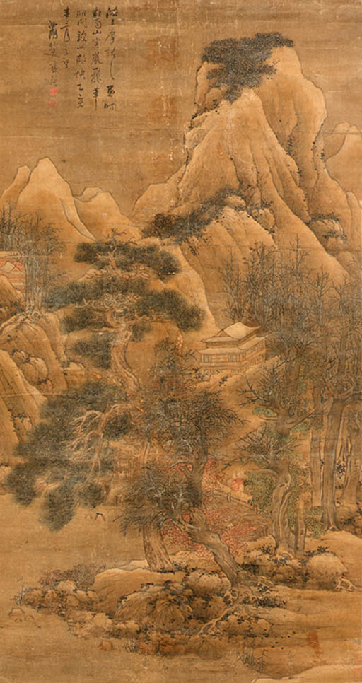 Lan Ying (1584-after 1664)