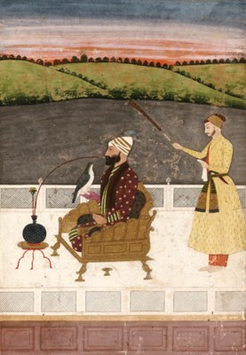 A nobleman at leisure