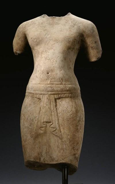 A large male torso