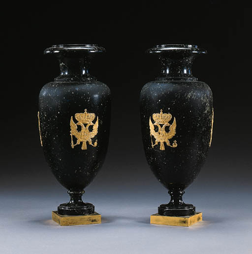 A PAIR OF RUSSIAN NEOCLASSIC O