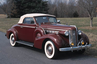 1938 Buick Special Series 40 Convertible Coupe