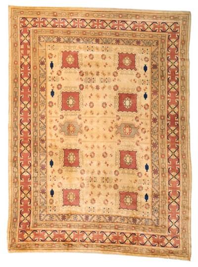 AN EAST TURKESTAN CARPET