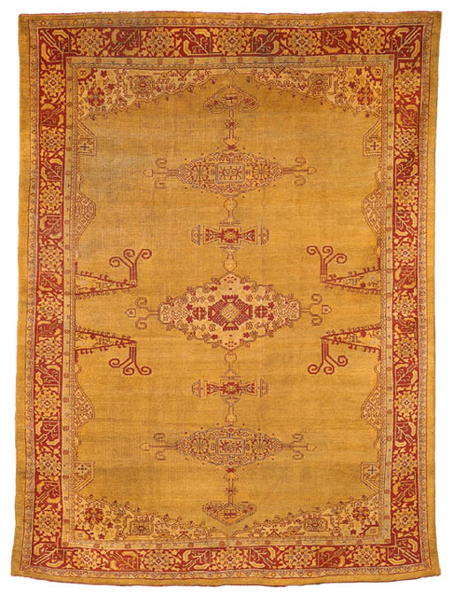 AN OUSHAK CARPET