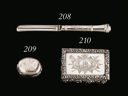 A WILLIAM AND MARY SILVER SPIC