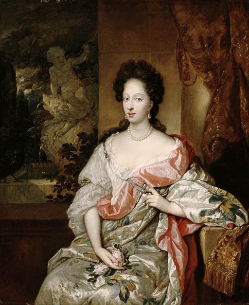 Constantijn Netscher (1668-172