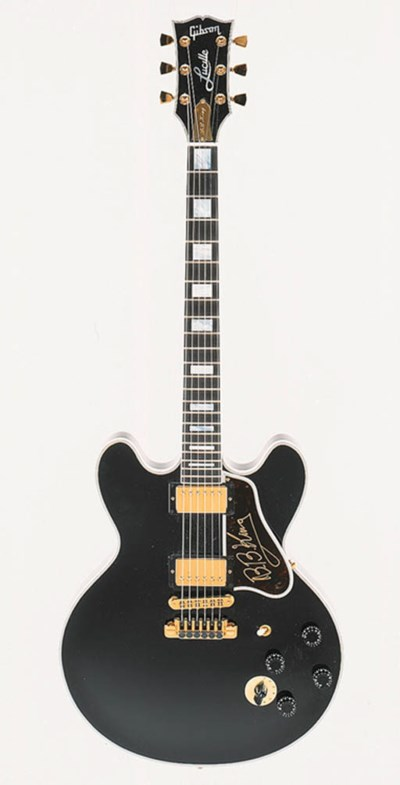 A 1995 Gibson B.B. King Lucill