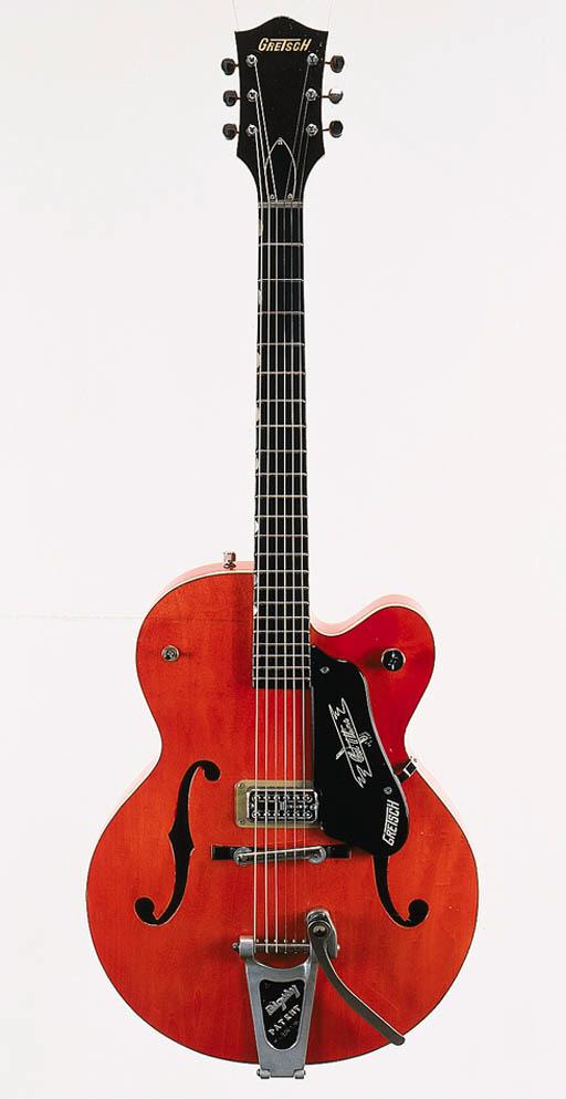 A 1958 Gretsch Chet Atkins Ten