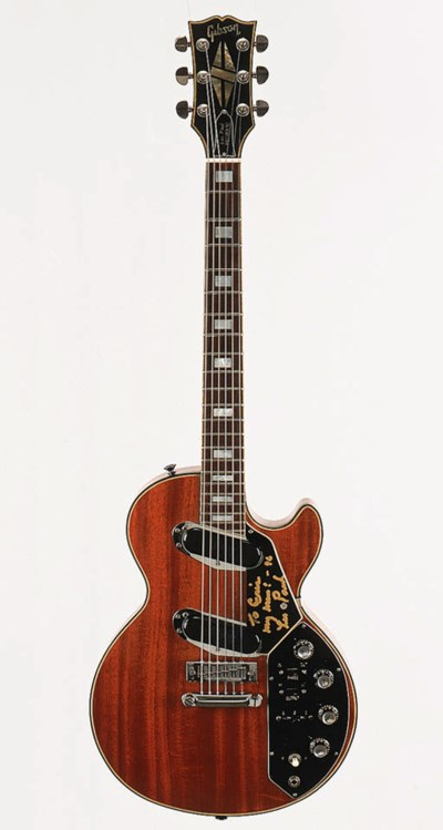 A 1970s Gibson Les Paul Record
