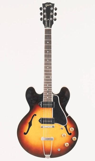 A 1960 Gibson ES-330TD