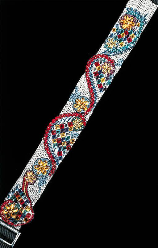 A Fender/Versace guitar strap