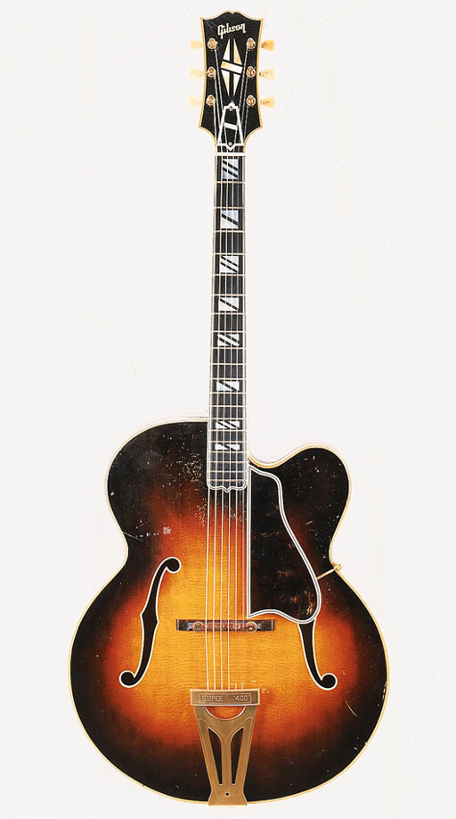 A c.1952 Gibson Super 400C