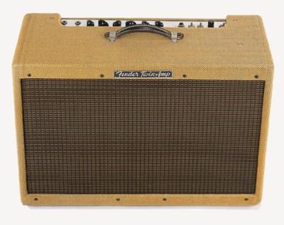 A late 1950s Fender Twin Ampli