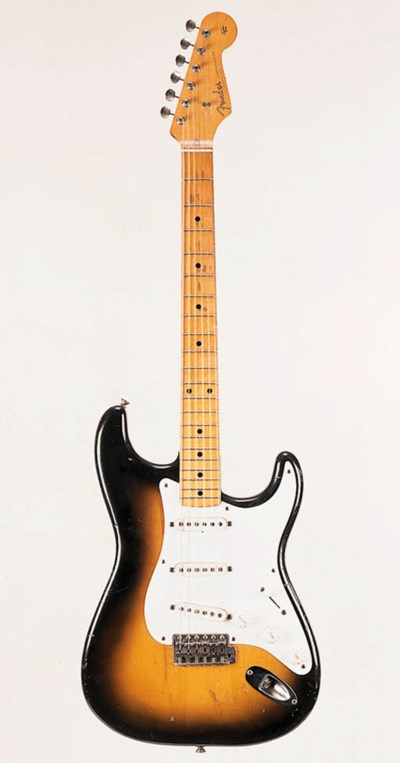 A 1956 Fender Stratocaster