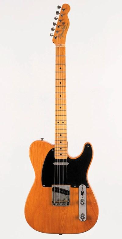 A 1952 Fender Telecaster