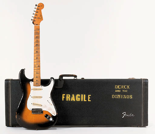 'Brownie' - A 1956 Fender Stratocaster