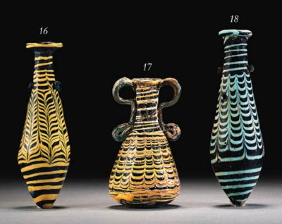 A CORE-FORMED GLASS AMPHORISKO