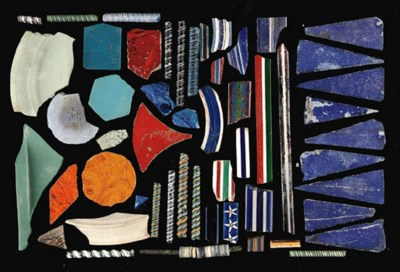 A COLLECTION OF ROMAN GLASS FR