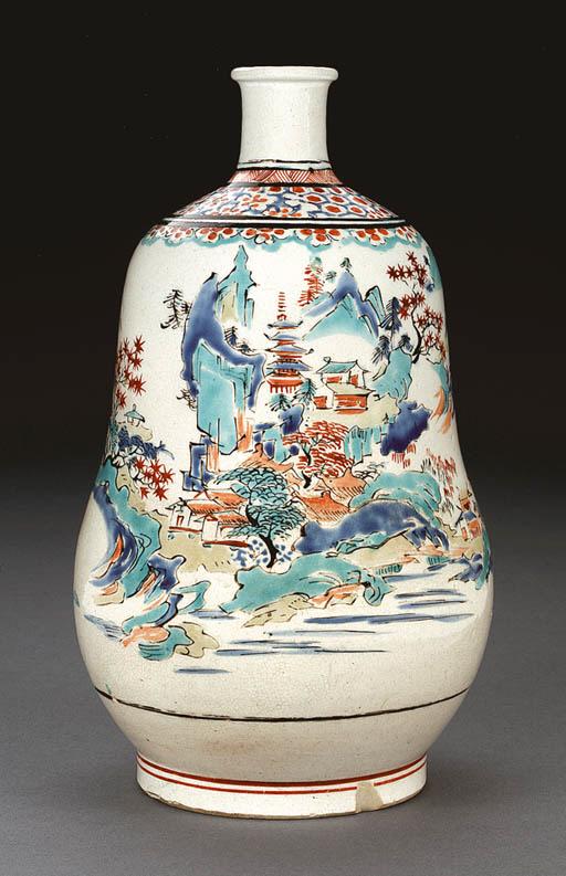 A Porcelain Bottle