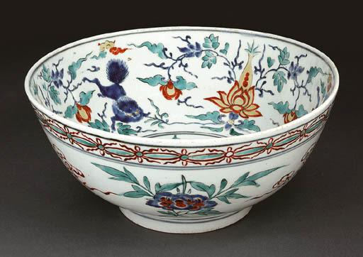 A Large Porcelain Bowl