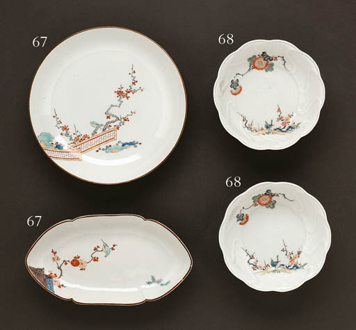 A Pair of Porcelain Bowls and