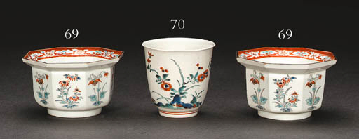 A Set of Octagonal Porcelain B
