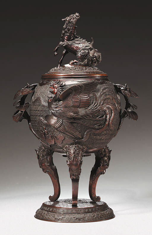 A Bronze Incense Burner (Koro)