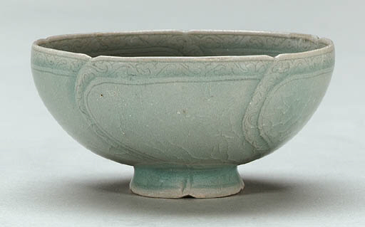 41 Incised Celadon Cup