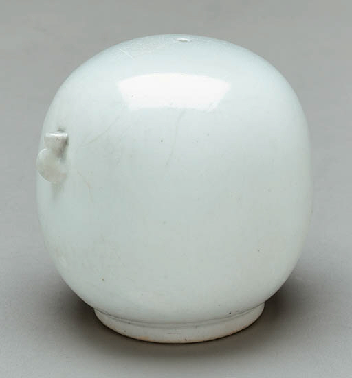 A White Porcelain Water Droppe