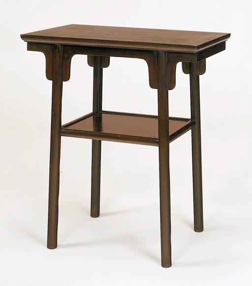 A Small Zitan Table, Xiaopingt
