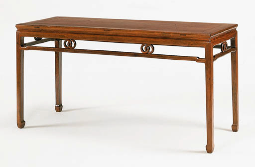A Huanghuali Table, Zhuo