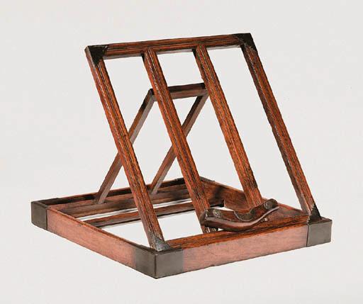 A Fine Huanghuali Folding Mirr