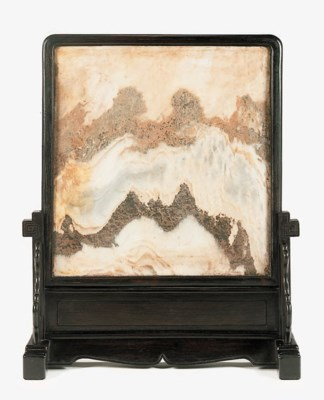 A Marble and Hardwood Screen,