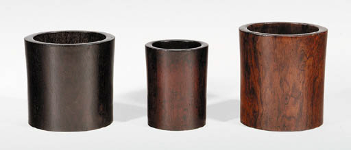 A Set of Three Brushpots, Bito