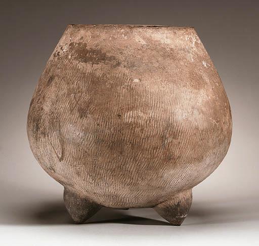 A Massive Textured Pottery Tri