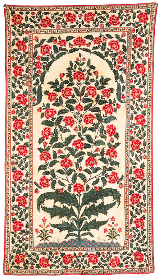 A Embroidered Wall Hanging