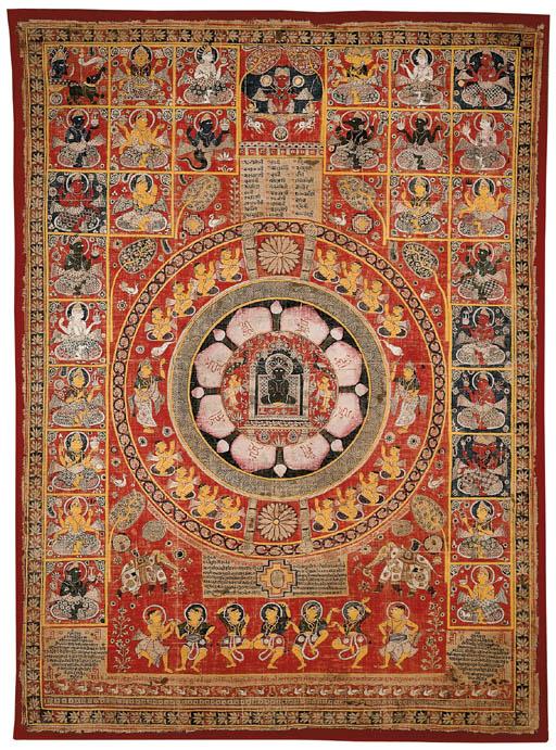 A Jain Lotus Mandala