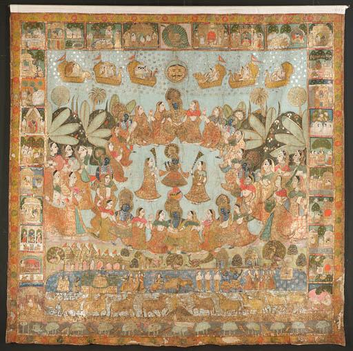 A 'Rasa Lila' Pichhavai