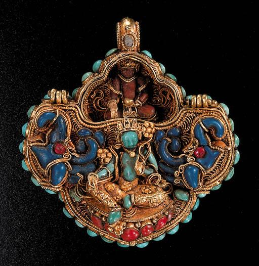 A Gold Charm Box, Gau