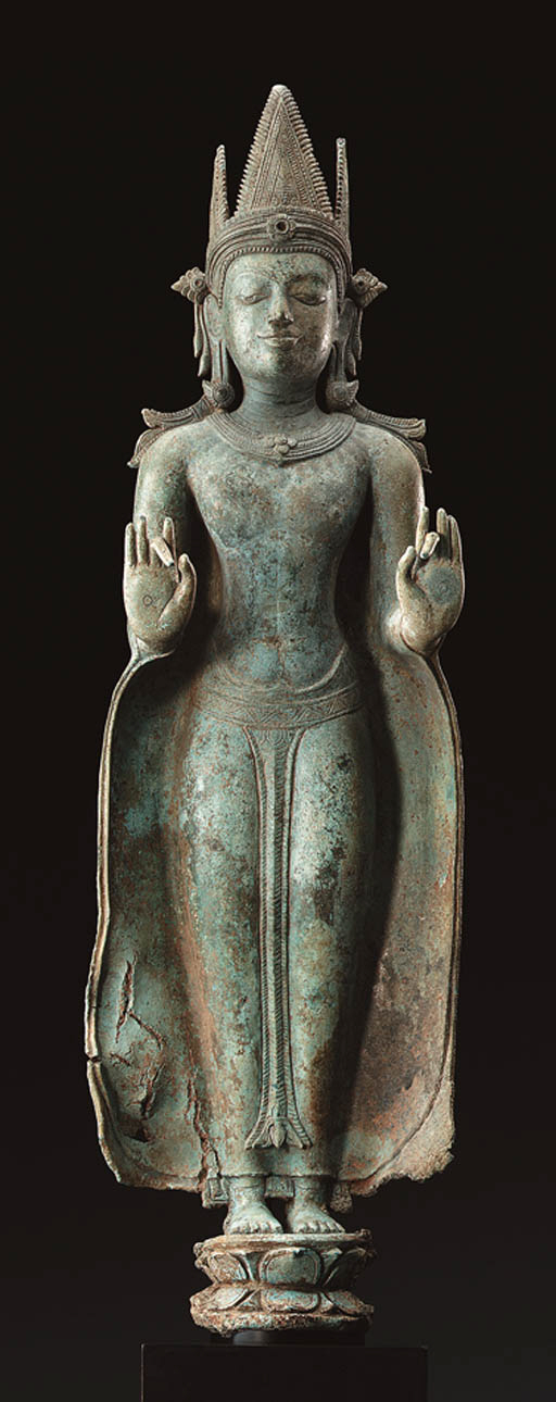 A Important Bronze Figure of a