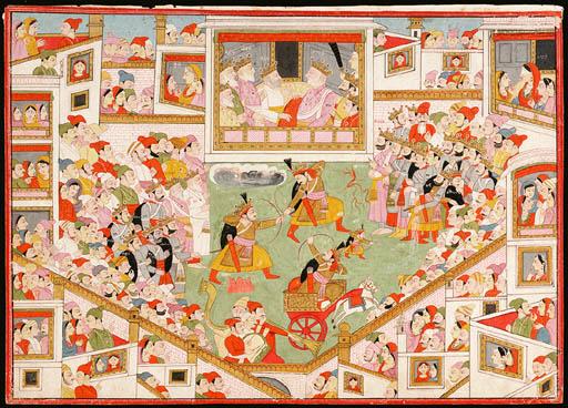 Illustration from a 'Mahabhara