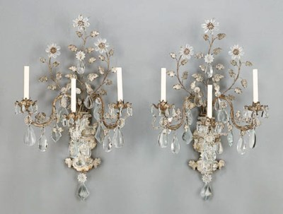 A PAIR OF ROCOCO STYLE SILVERE