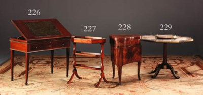 A LATE LOUIS XVI SATINWOOD AND